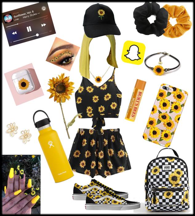Sunflower girl!!