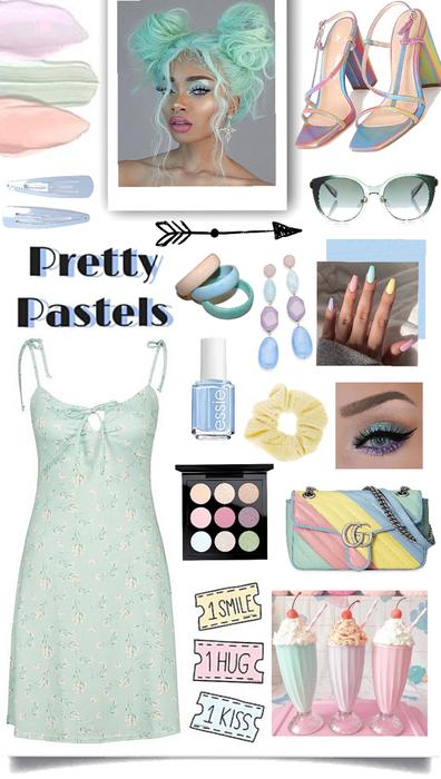 Pretty pastels 💚💜💛💙
