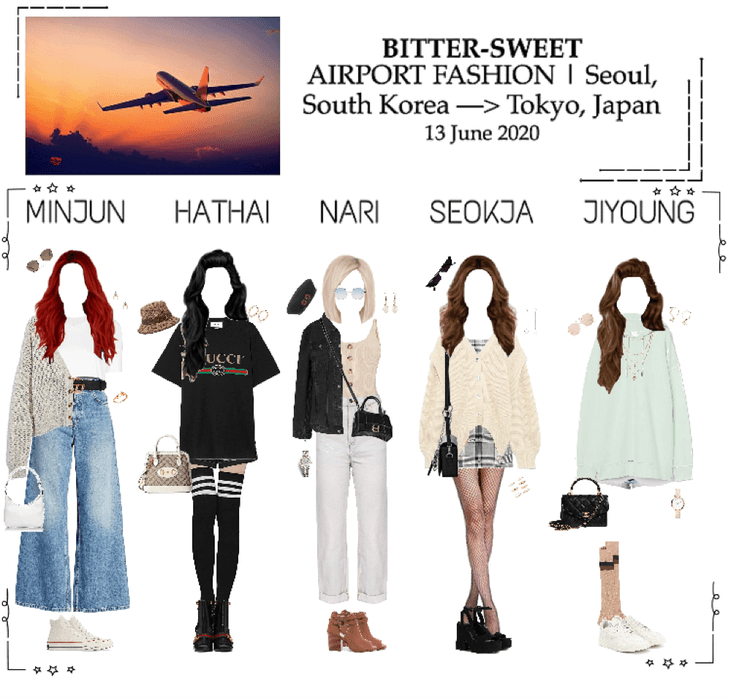 BITTER-SWEET [비터스윗] Airport Fashion 200613