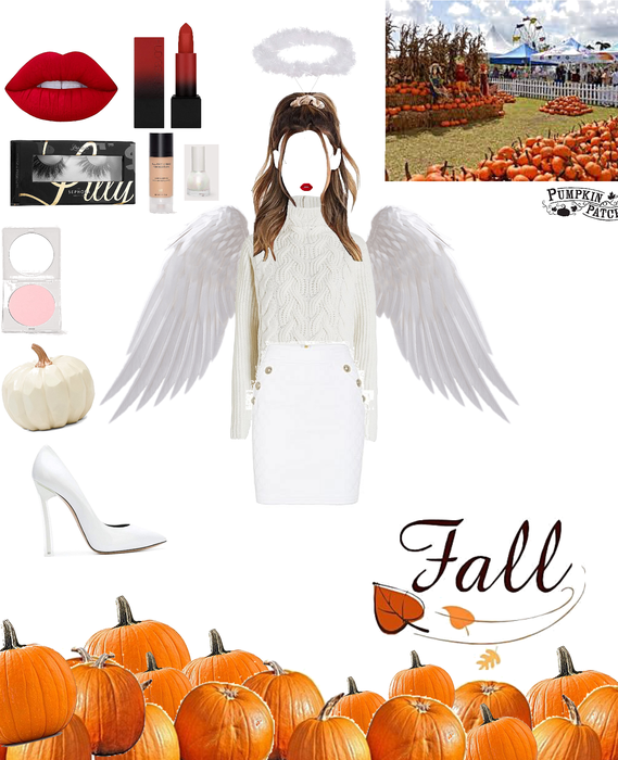D.I.Y angel costume for Halloween 🎃 👻
