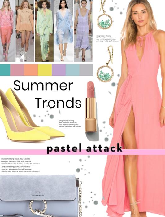 Summer Trends: Pastels