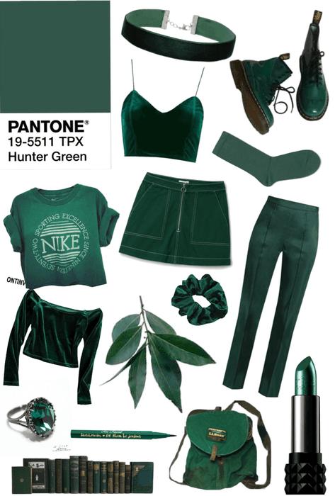 My Favorite Colors: Hunter Green
