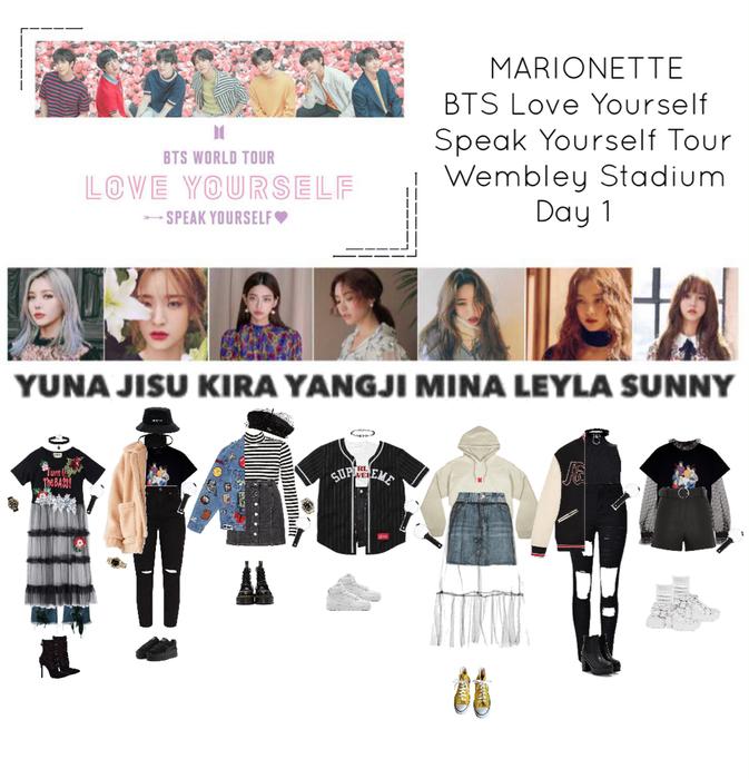 {MARIONETTE} BTS World Tour Love Yourself Speak Yourself