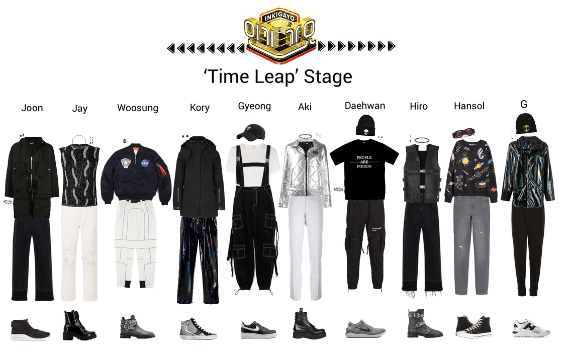 Lynx//Time Leap Inkigayo Stage