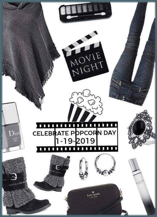 Movie Night/Date night/celebrate popcorn day