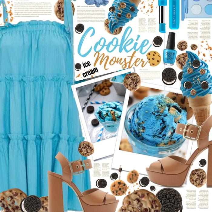 Cookie Monster 🍪🖤💙