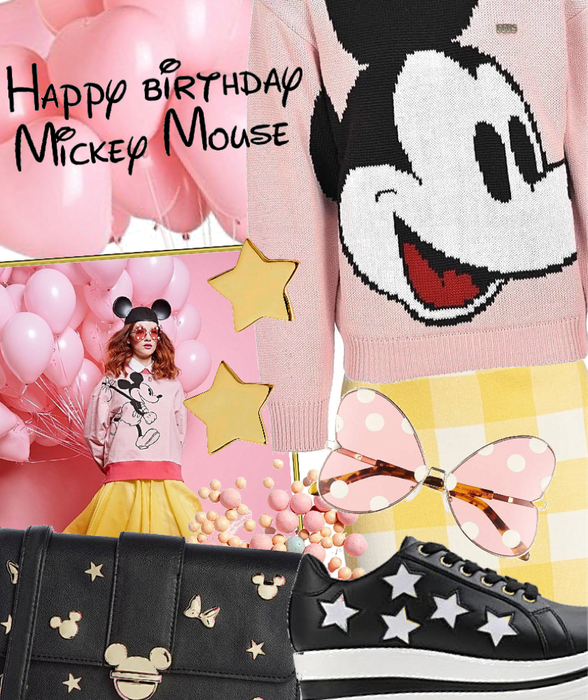 Mickey in pink
