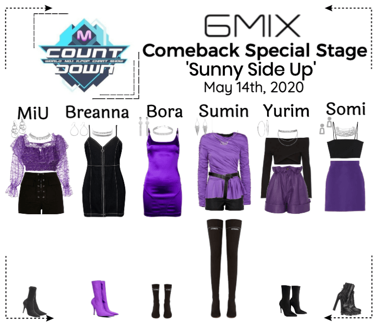 《6mix》MCountdown Comeback Special Stage