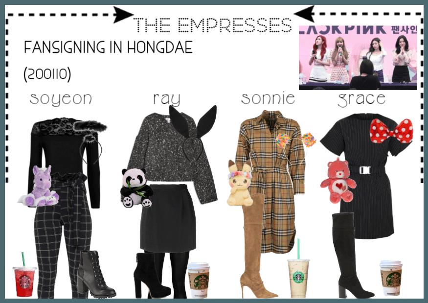 [THE EMPRESSES] FANSIGN IN HONGDAE