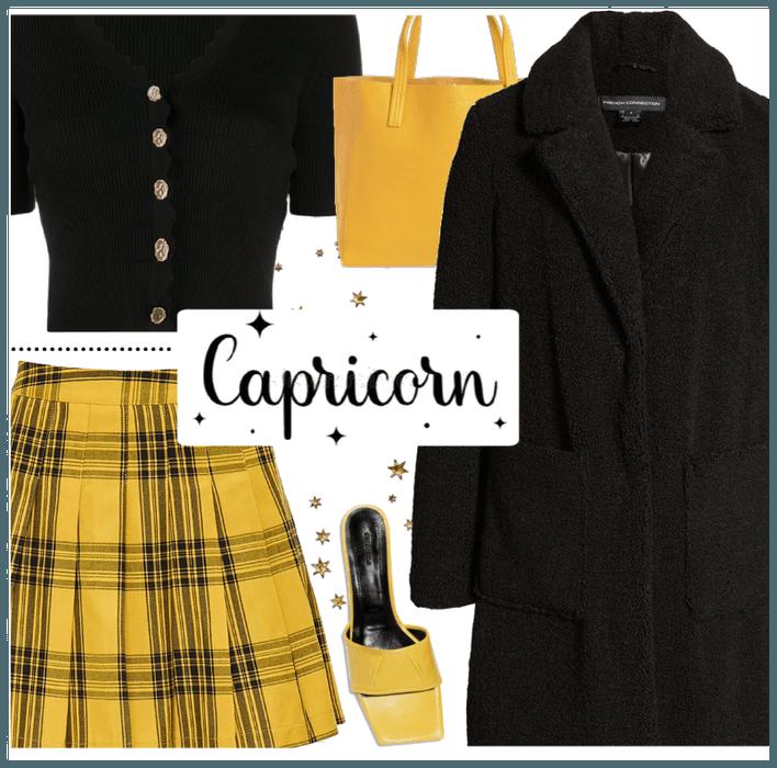 yellow capri