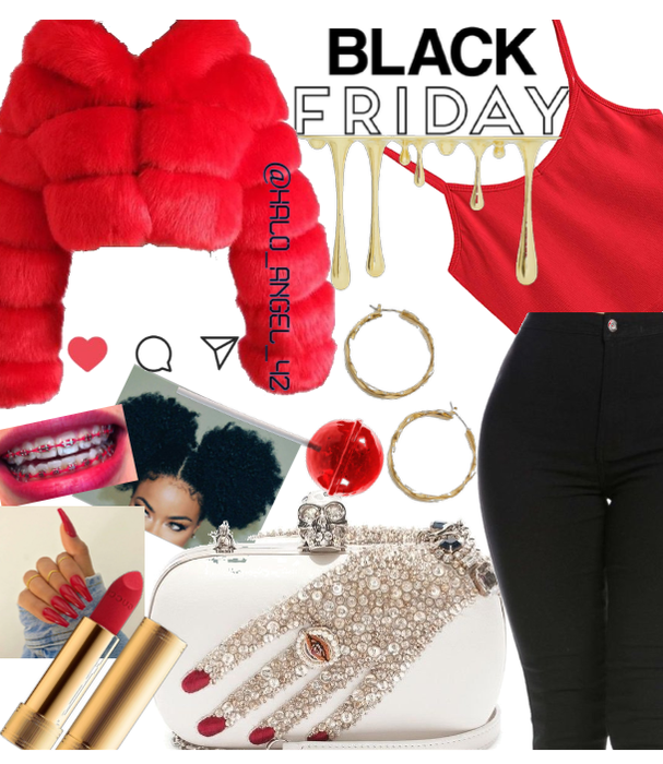 Red ❤️ Gold💛 BaLcK🖤 fRiDay