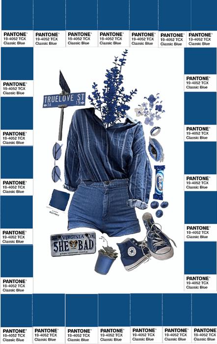 Pantone blue 19-4052