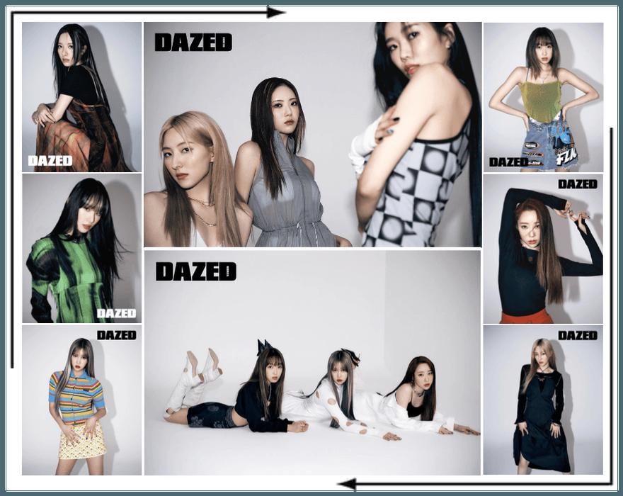 Crushes (호감) Dazed Magazine Photoshoot