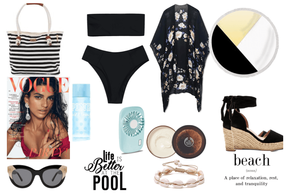 authentic fashion presents: meet me @ the pool