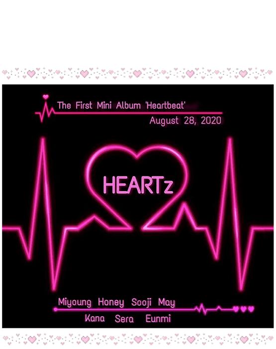HEARTz   The First Mini Album 'Heartbeat' Debut Teaser