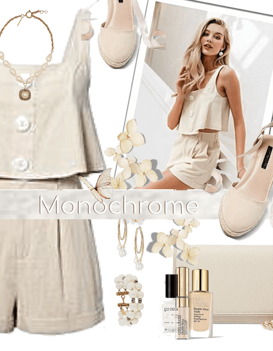 Monochrome Ivory