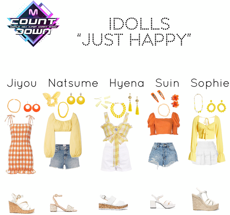 "IDolls MCountdown ""Just Happy"" Comeback Stage"