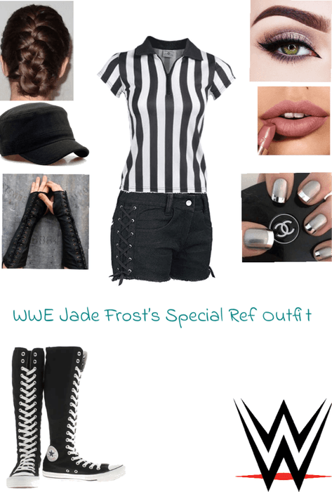 WWE Jade Frost's Special Ref Outfit #1