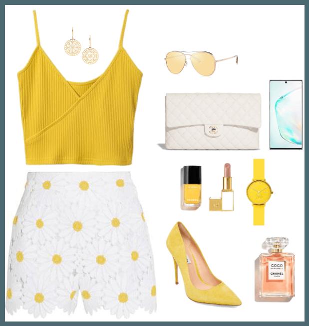 Classy Yellow Summer