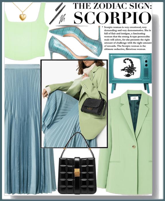 The Zodiac sign: Scorpio