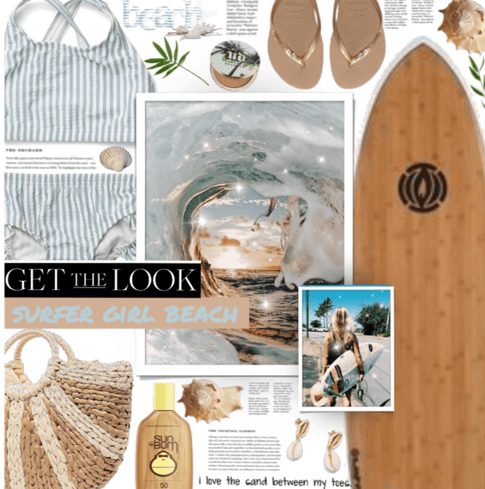 Get The Look: Surfer Girl meets beach day