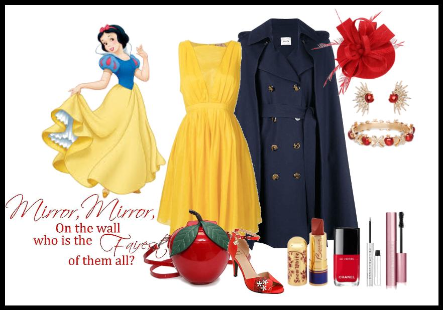 Disney Bound: Snow White: Dapper Day Look