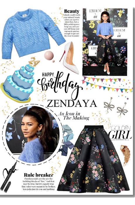 Birthday Girl Zendaya
