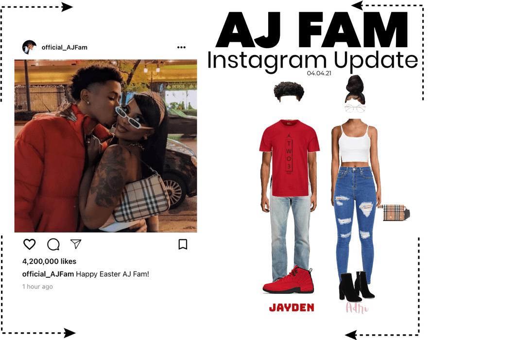 AJ FAM   Instagram Post