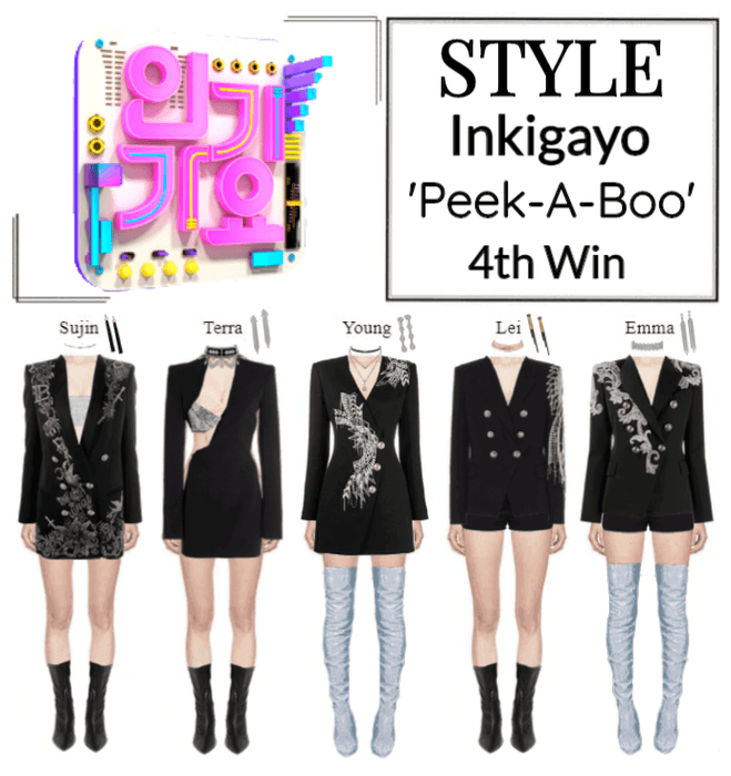 STYLE Inkigayo 'Peek-A-Boo'