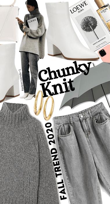 Chunky knit #falltrends