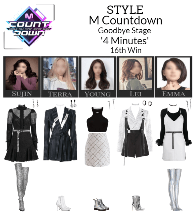 STYLE M Countdown '4 Minutes' Goodbye Stage