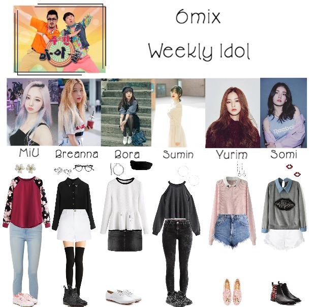 6mix At Weekly Idol