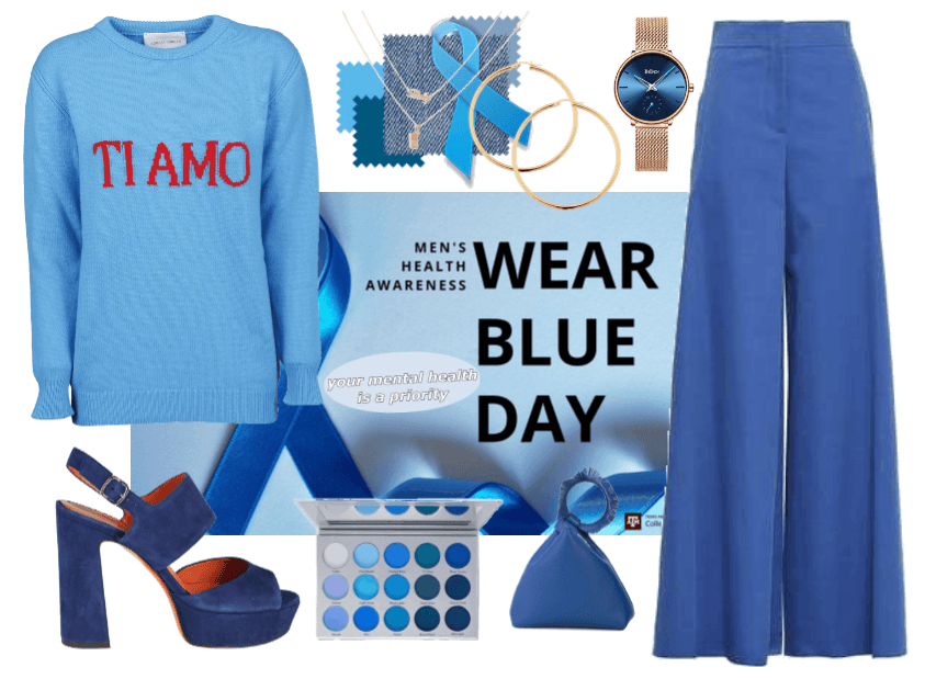 NATIONAL WEAR BLUE DAY