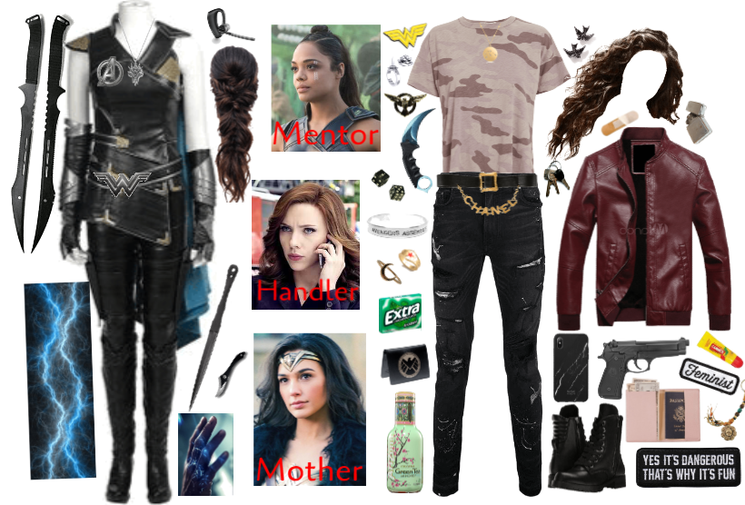 Avenger OC: Daughter of Wonder Woman