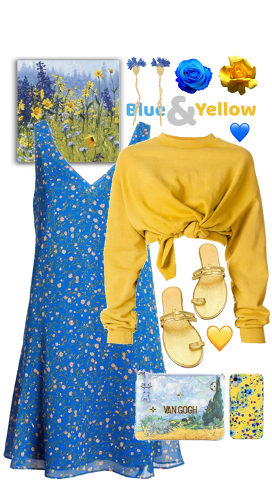 Blue and Yellow | Spring to Summer!