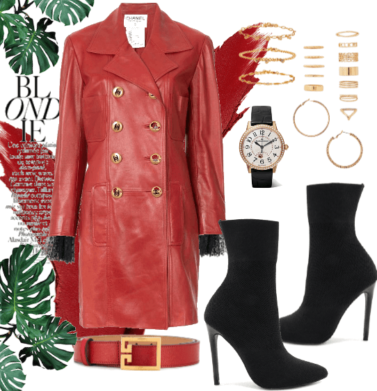 The Red Chanel Coat.