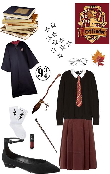 diy gryffinder Halloween costume