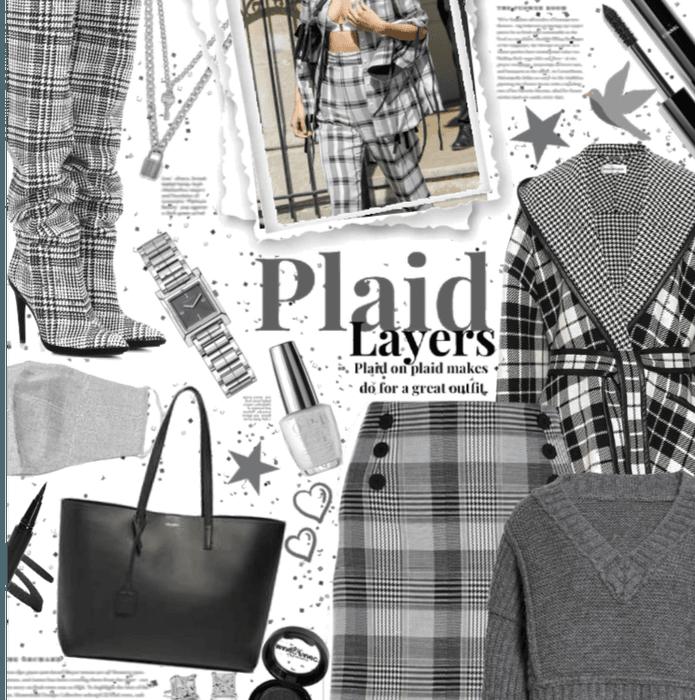 Plaid layers