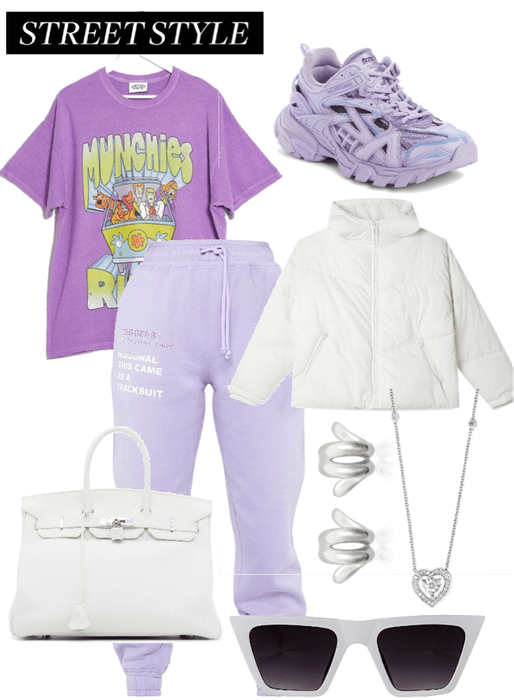 Purple Streetwear
