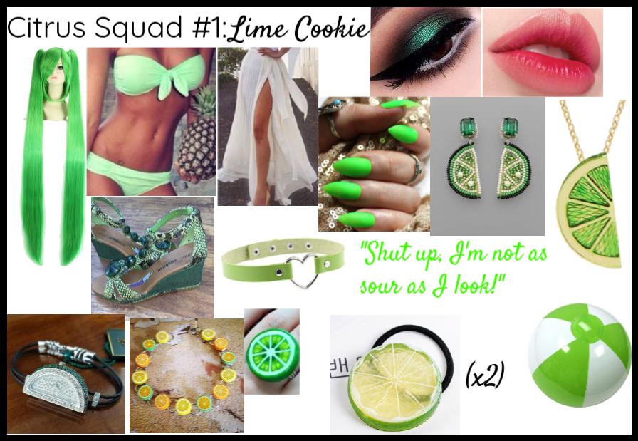 Citrus Squad #1: Lime Cookie