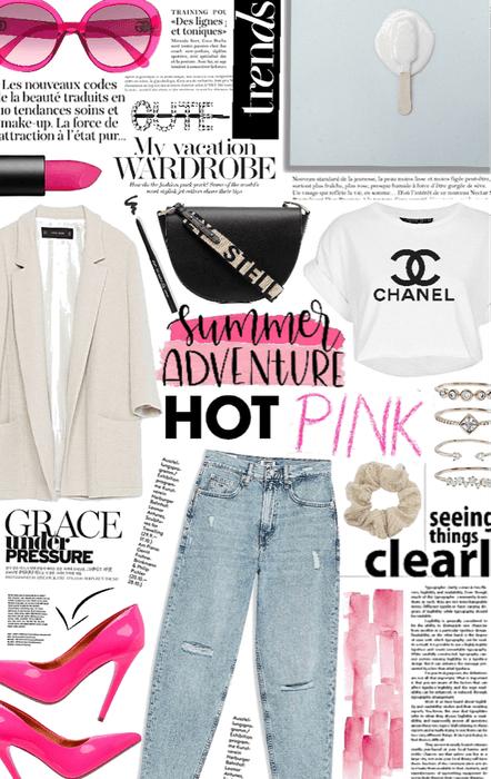 hello pink summer.