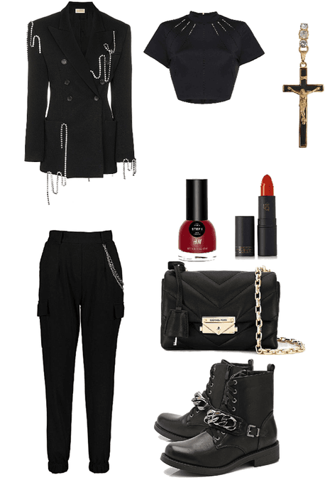 NCT Boss inspired outfit
