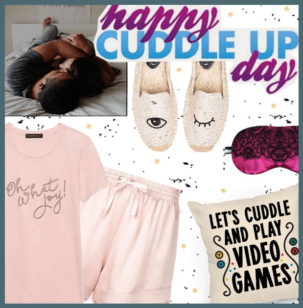 Happy Nat. Cuddle Up Day 1/6/19