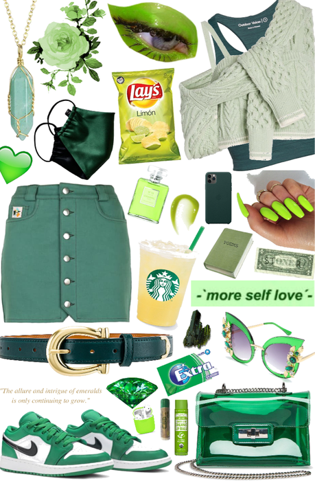 what's your shade of green ?
