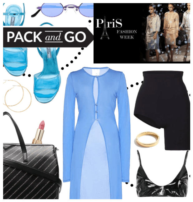Pack for Paris Fashion Week
