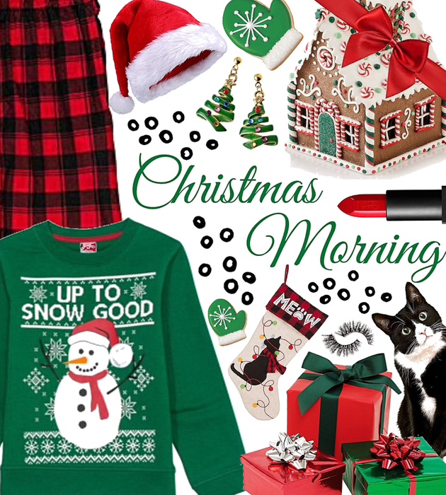WINTER 2020: Green + Red Style (Christmas Morning)