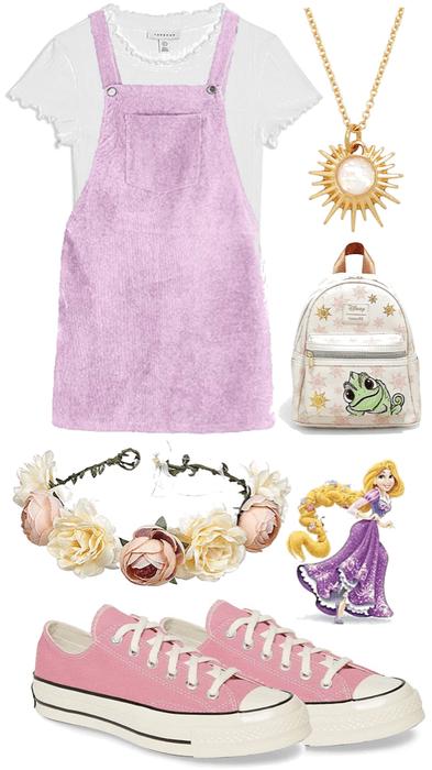 Rapunzel Disneybound