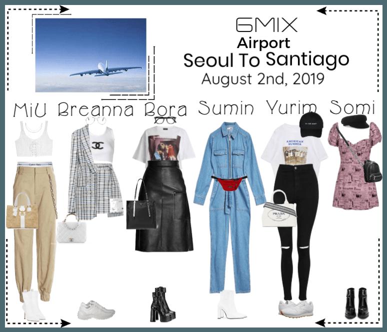 《6mix》Airport | Seoul To Santiago