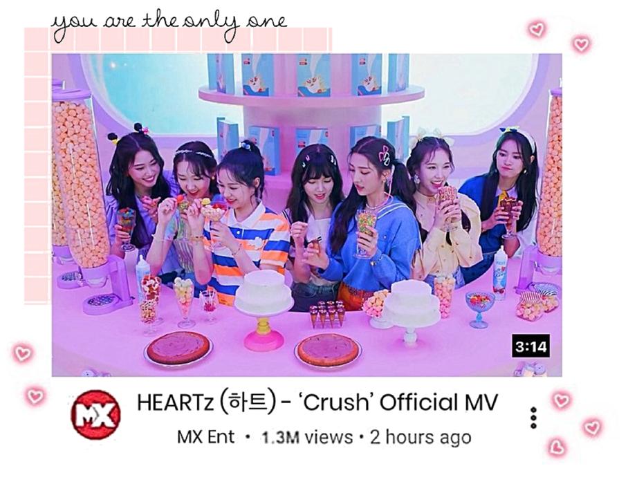 HEARTz// 'Crush' Official Debut MV