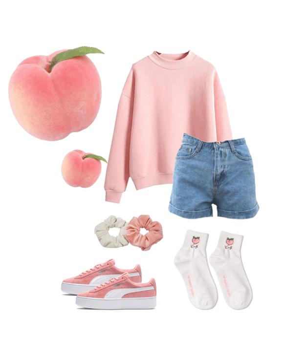 Peach Aesthetic